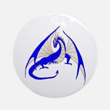 Blue Dragon Ornament