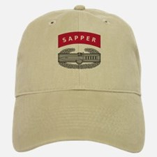 Combat Action Badge w Sapper Tab Baseball Baseball Cap