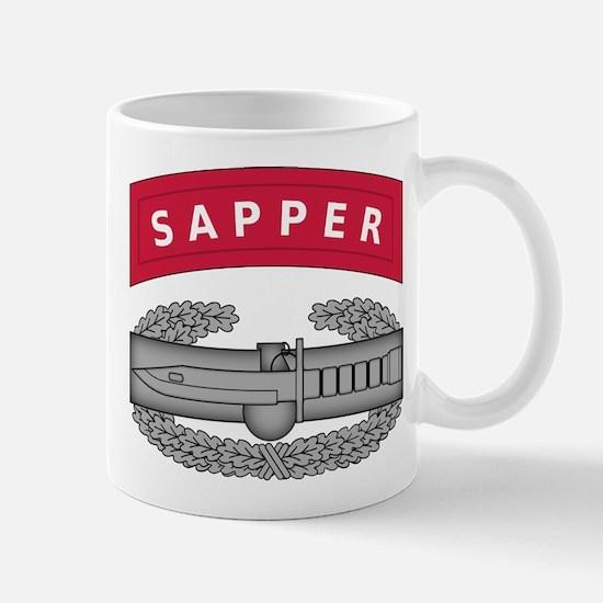 Combat Action Badge w Sapper Tab Mug
