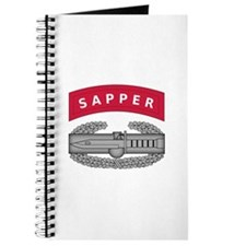Combat Action Badge w Sapper Tab Journal