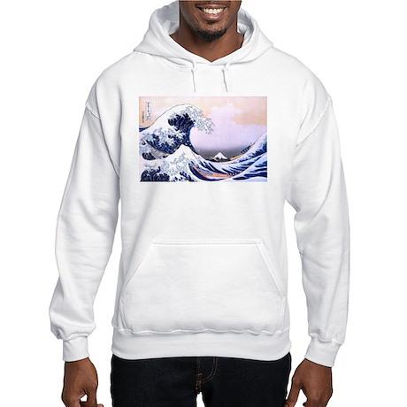 Great Wave Off Kanagawa Hooded Sweatshirt