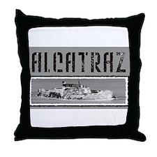 Alcatraz T-shirts Throw Pillow