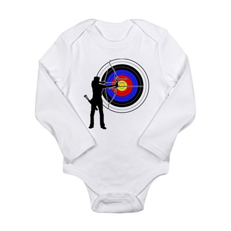 Archery2 Long Sleeve Infant Bodysuit