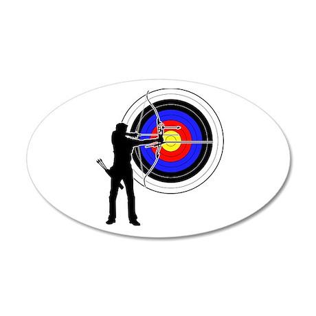 Archery2 22x14 Oval Wall Peel