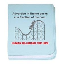 Theme Parks baby blanket