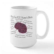 A Nurses's Brain Mug