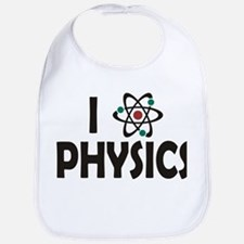 I Love Physics Bib