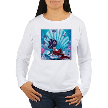 under water Women's Long Sleeve T-Shirt