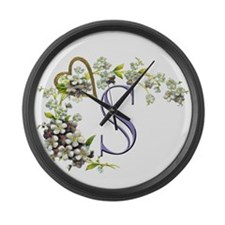 S Large Wall Clock