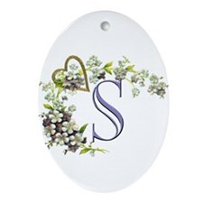 S Ornament (Oval)