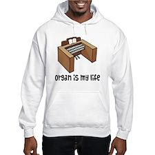 Organ Music Quote Hoodie
