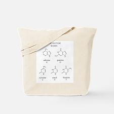 Nucleotide Bases Tote Bag