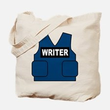 Castle Writer Vest Tote Bag