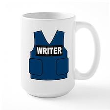 Castle Writer Vest Large Mug