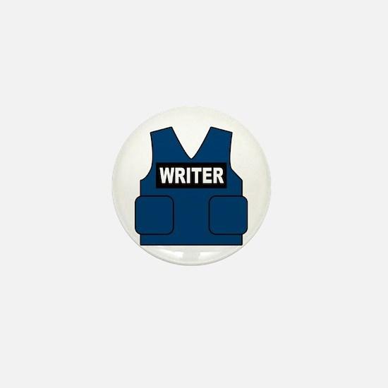 Castle Writer Vest Mini Button