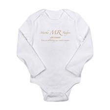 Martha Rodgers Long Sleeve Infant Bodysuit