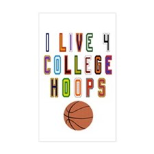 College Basketball Decal