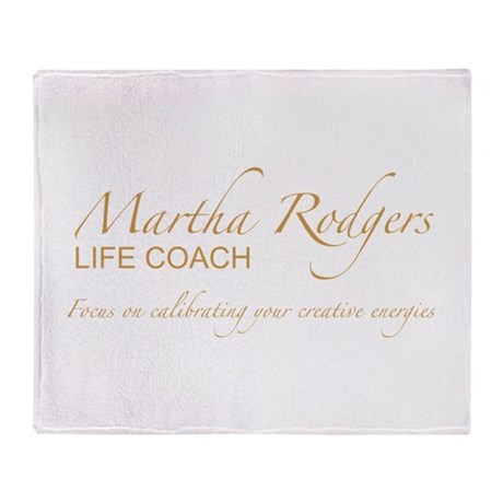 Life coach Throw Blanket