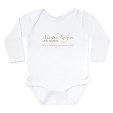 Life coach Long Sleeve Infant Bodysuit