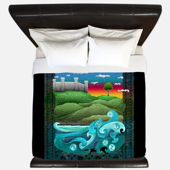 Celtic Castle Tor King Duvet Cover