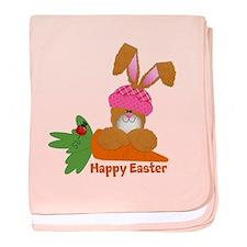 CUSTOMIZABLE: EASTER BUNNY baby blanket