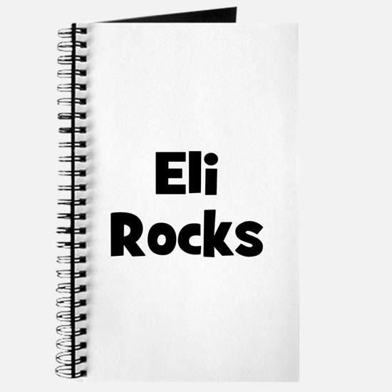 Eli Rocks Journal