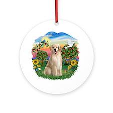BrightCountry-Golden#8 Ornament (Round)