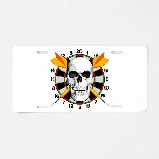 Darts Champion Aluminum License Plate