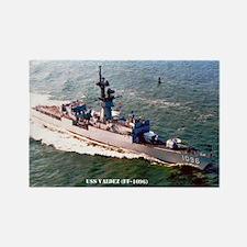 USS VALDEZ Rectangle Magnet