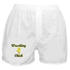 Wrestling Chick Boxer Shorts