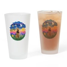 Twilight - Airedale #1 Drinking Glass