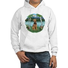Birches / Airedale #1 Hoodie