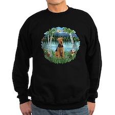 Birches / Airedale #1 Sweatshirt