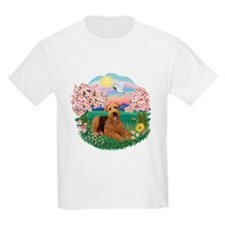 Blossoms / Airedale #5 T-Shirt