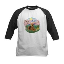 Blossoms / Airedale #5 Tee