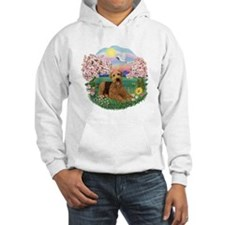 Blossoms / Airedale #5 Hoodie