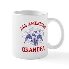 All American Grandpa Small Mug