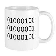 Dad in Binary Mug