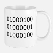 Dad in Binary Mug