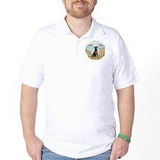 Row Boat - Black Lab #1 T-Shirt