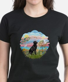Angel Star - black Lab #3 Tee