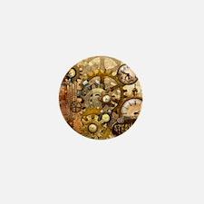 time Mini Button