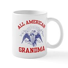 All American Grandma Small Mug