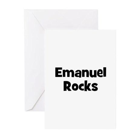 Emanuel Rocks Greeting Cards (Pk of 10)