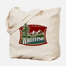 Whitefish Mountain Tote Bag