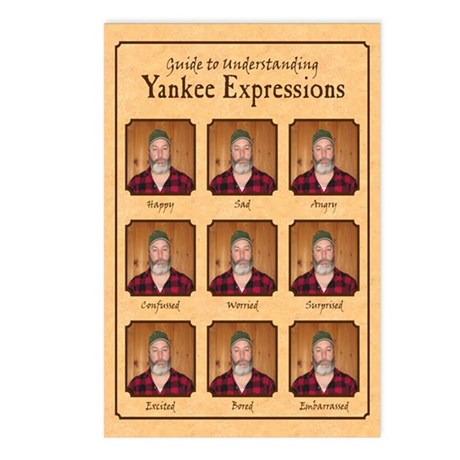 Yankee Guide Postcards (Package of 8)
