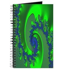 """Green Ice"" Fractal Art Journal"