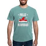 TROPICAL ISLANDS Organic Men's Fitted T-Shirt (dar