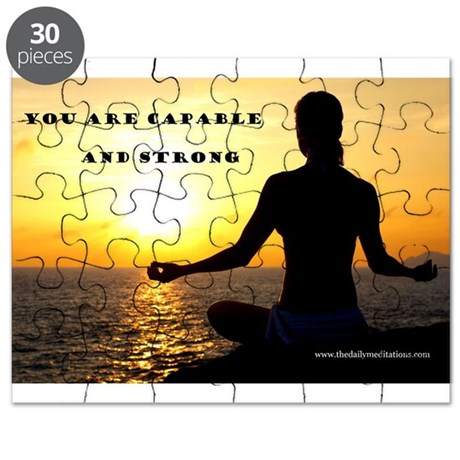 You Are Capable and Strong Af Puzzle