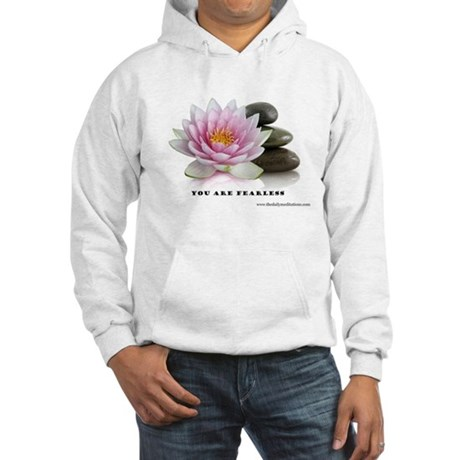 You Are Fearless Affirmation Hooded Sweatshirt